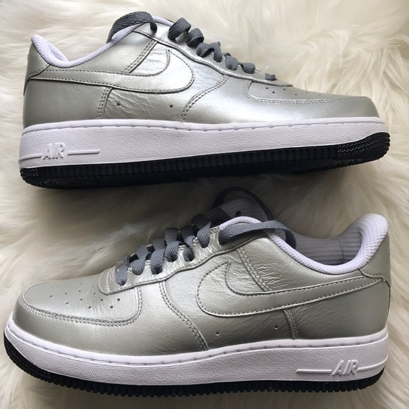 air force 1 silver